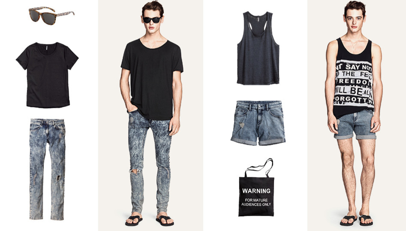 Jacob Morton Rocks New Transitional Looks for H&M Divided Grey