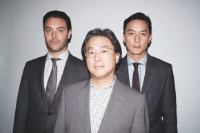 Jackson Huston, Park Chan-Wook and Daniel Wu