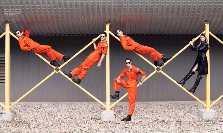 Blast Off! Vladimir Ivanov, Jordan Stenmark + More are Astronauts for Harper's Bazaar