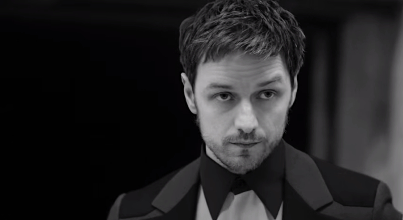 Behind the Scenes: James McAvoy for Prada Fall 2014 Ad Campaign