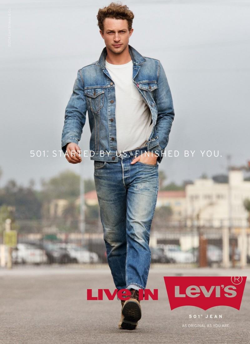 Live in Levi's_501_Adverstising