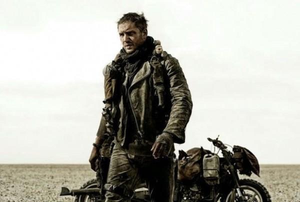 British actor Tom Hardy as Max Rockatansky