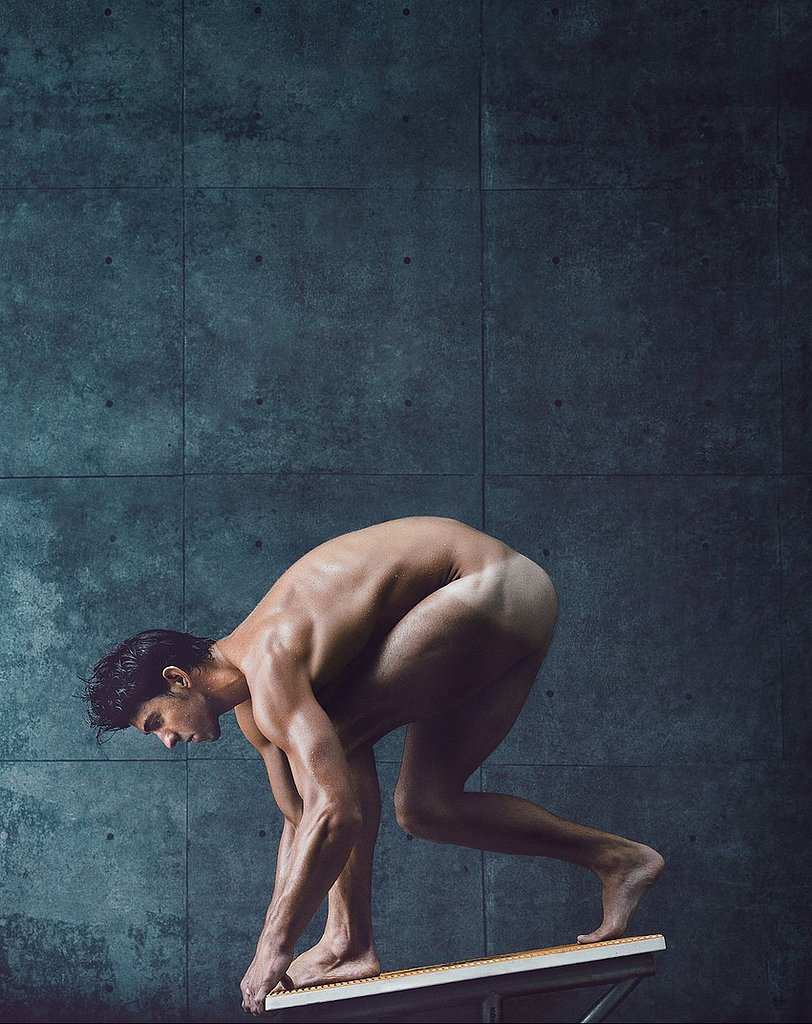 Best looking nude male athletes