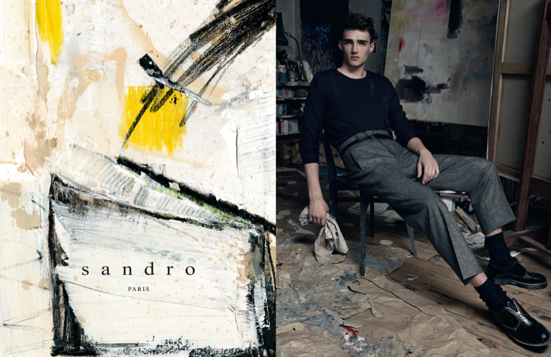 Sandro Fall/Winter 2014 Campaign