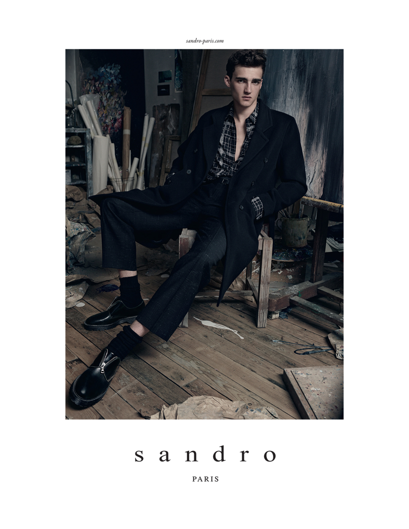 Sandro-Fall-Winter-2014-Campaign-002