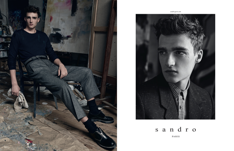 Sandro-Fall-Winter-2014-Campaign-003