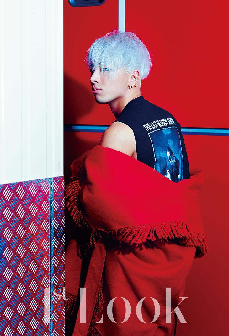 Big Bang S Taeyang Rocks Colored Hair For 1st Look The