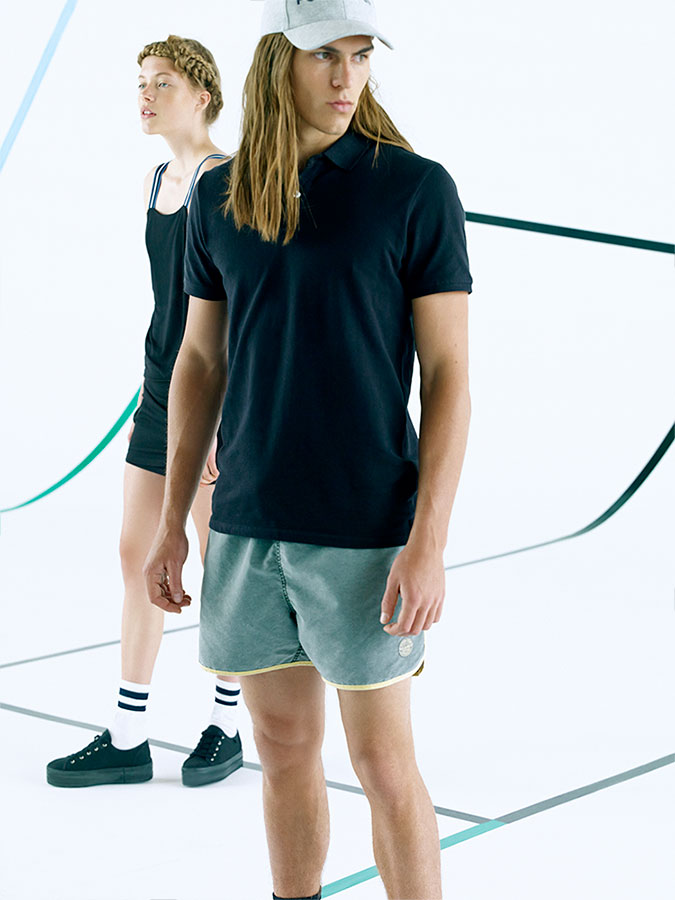 Tennis Inspired Fashions: Travis Smith for Pull & Bear