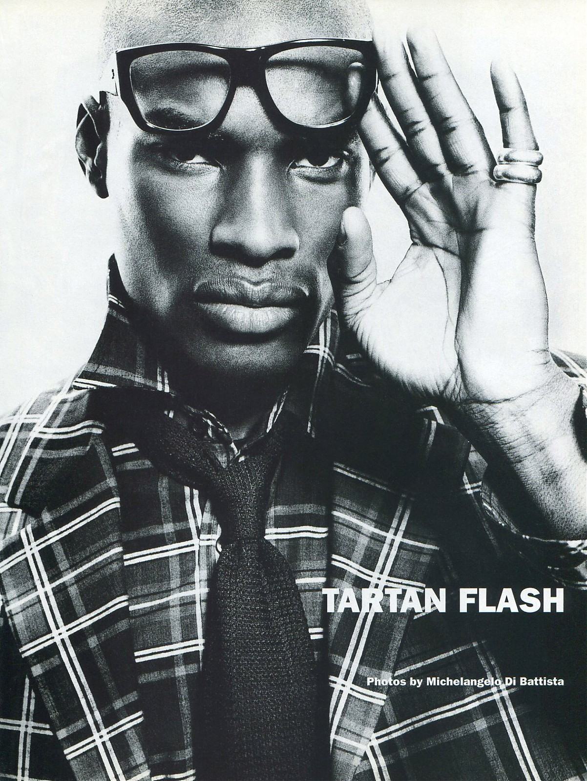 TBT: Tyson Beckford in 1994 Fashion Spread for Mondo Uomo It