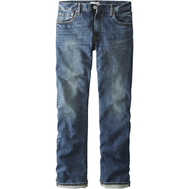 UNIQLO Regular Fit Straight Selvedge Jeans