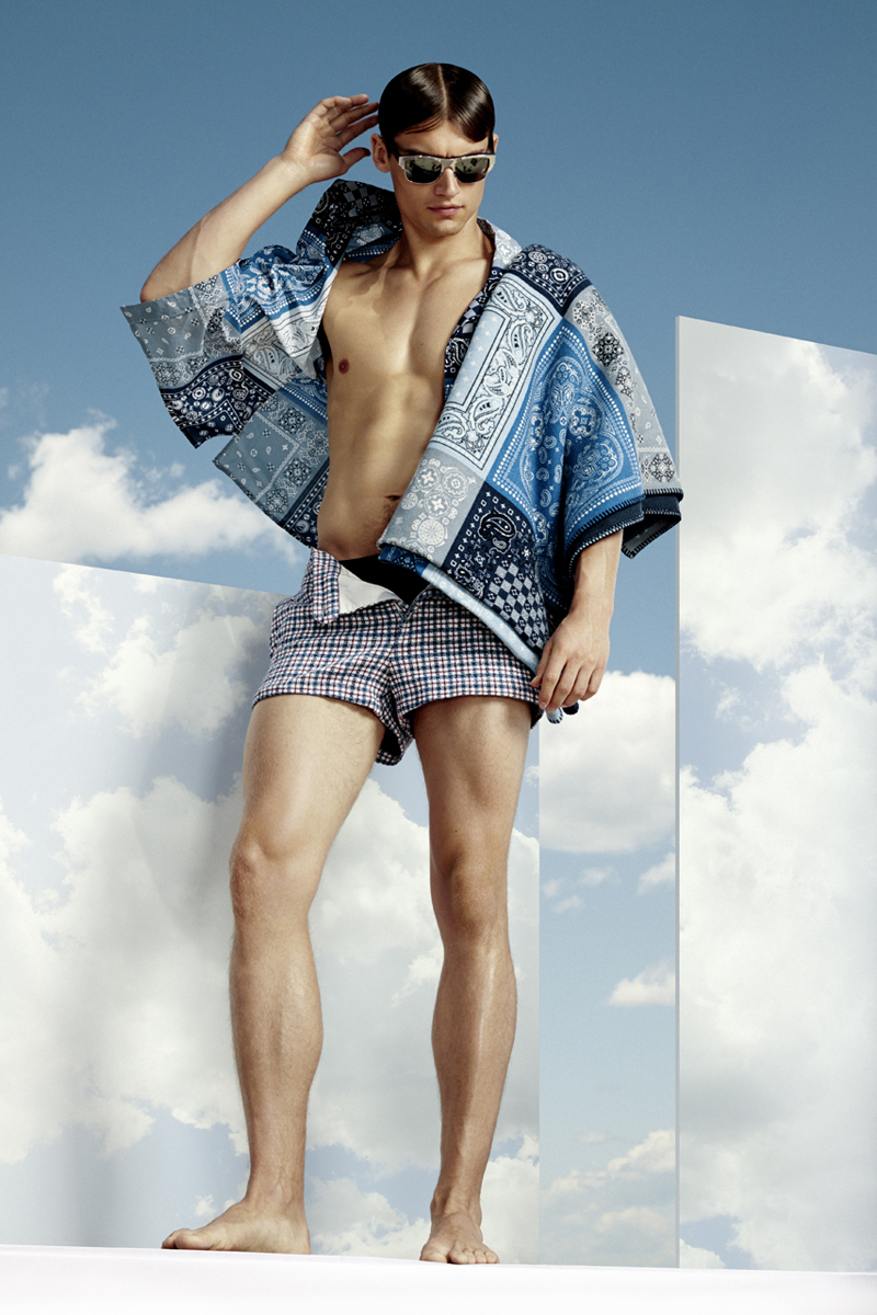 Vladimir Ivanov Models Summer Swimwear for VMAN