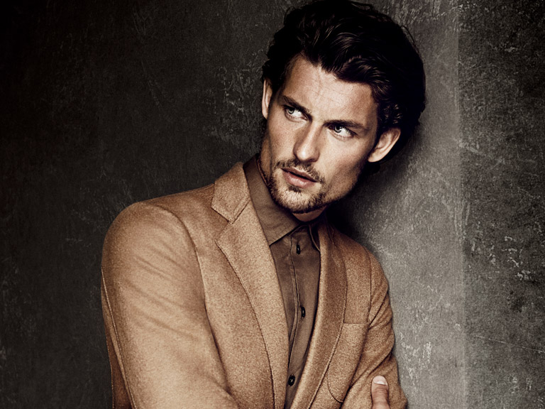 First Look: Wouter Peelen for Armani Collezioni Fall/Winter 2014 Campaign