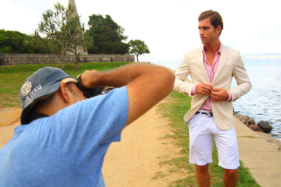 Behind the Scenes: André Ziehe for Individual Spring/Summer 2015