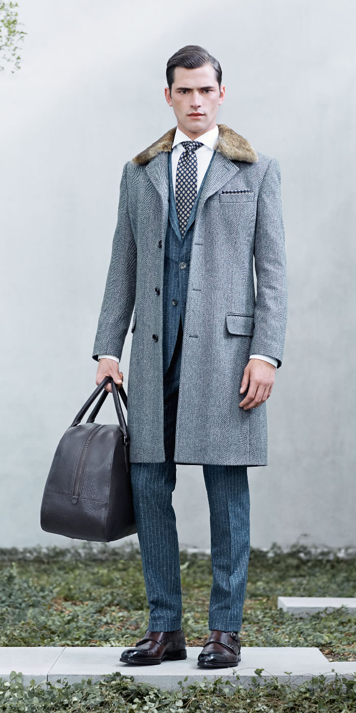 Sean O'Pry + Mathias Bergh Model Business Fashions for Hugo Boss Fall/Winter 2014