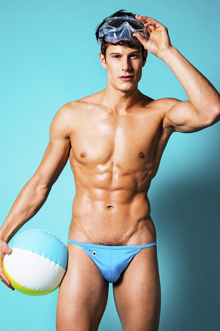 Eian Scully Models Scandalous Swimwear for Galore Magazine ...
