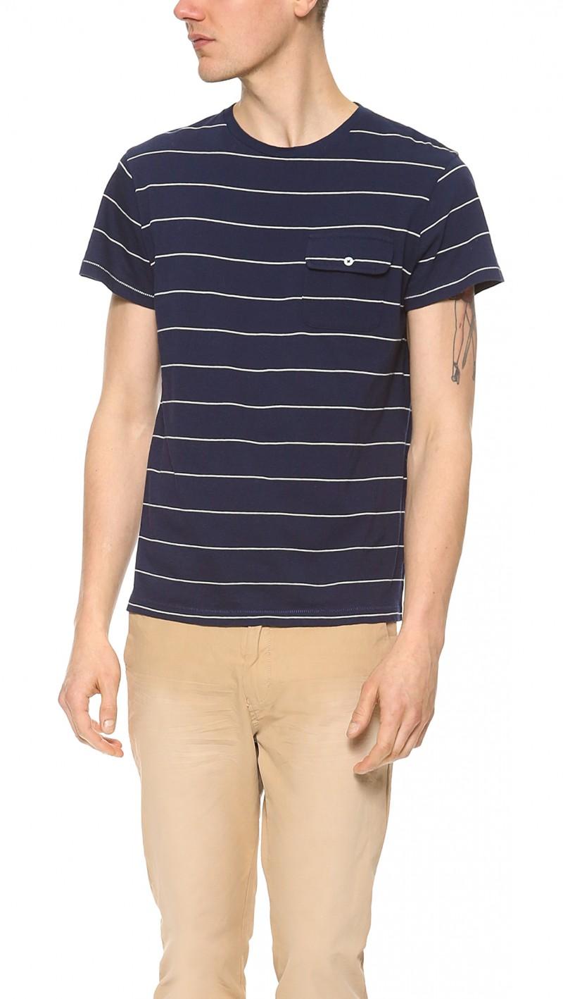 GANT by Michael Bastian Mini Striped T-Shirt