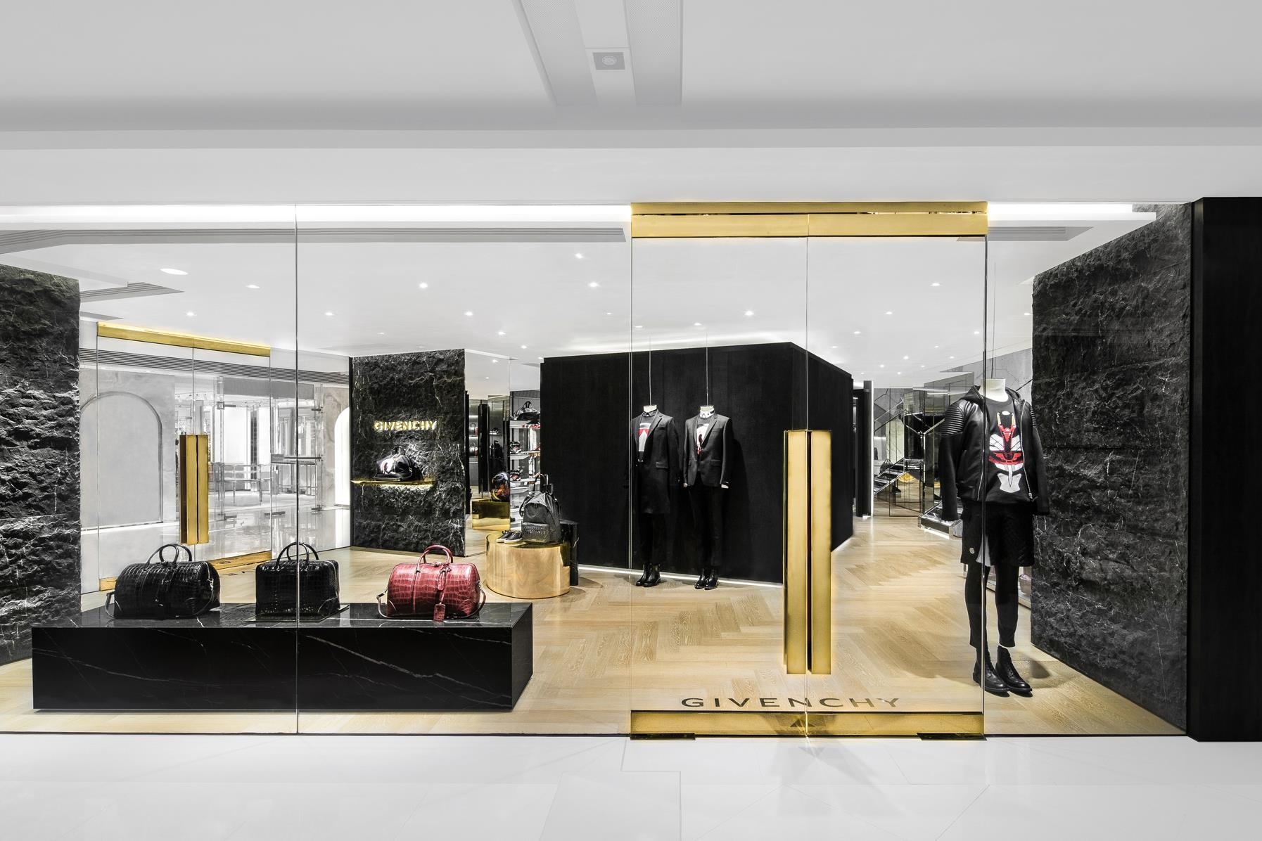 Givenchy Opens New Boutique In Hong Kong The Fashionisto