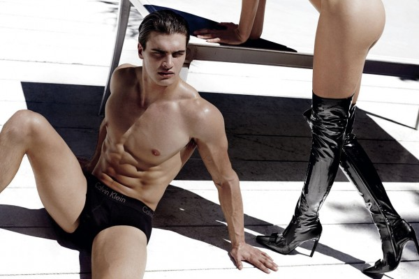 Matthew Terry Wears Calvin Klein Underwear for V Magazine Cover Story