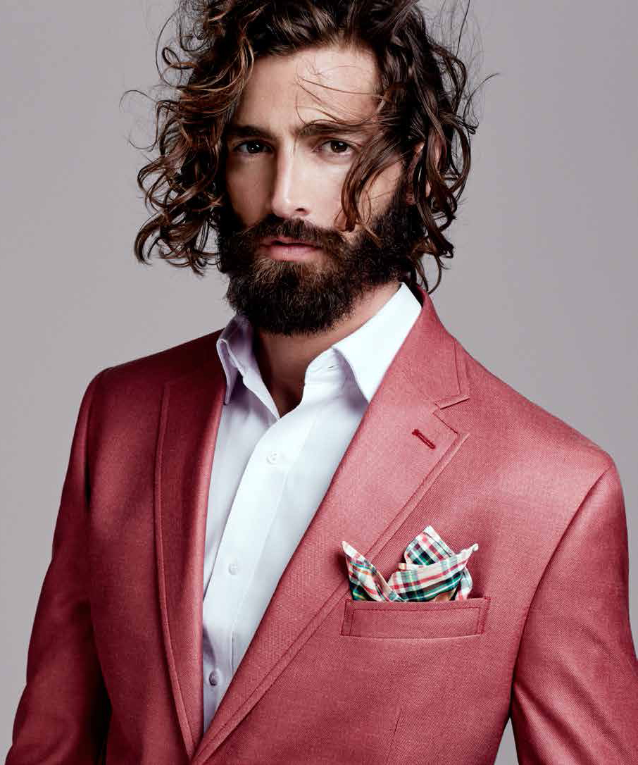 Maximiliano Patane Models Sharp Designer Suits for El Palacio de Hierro