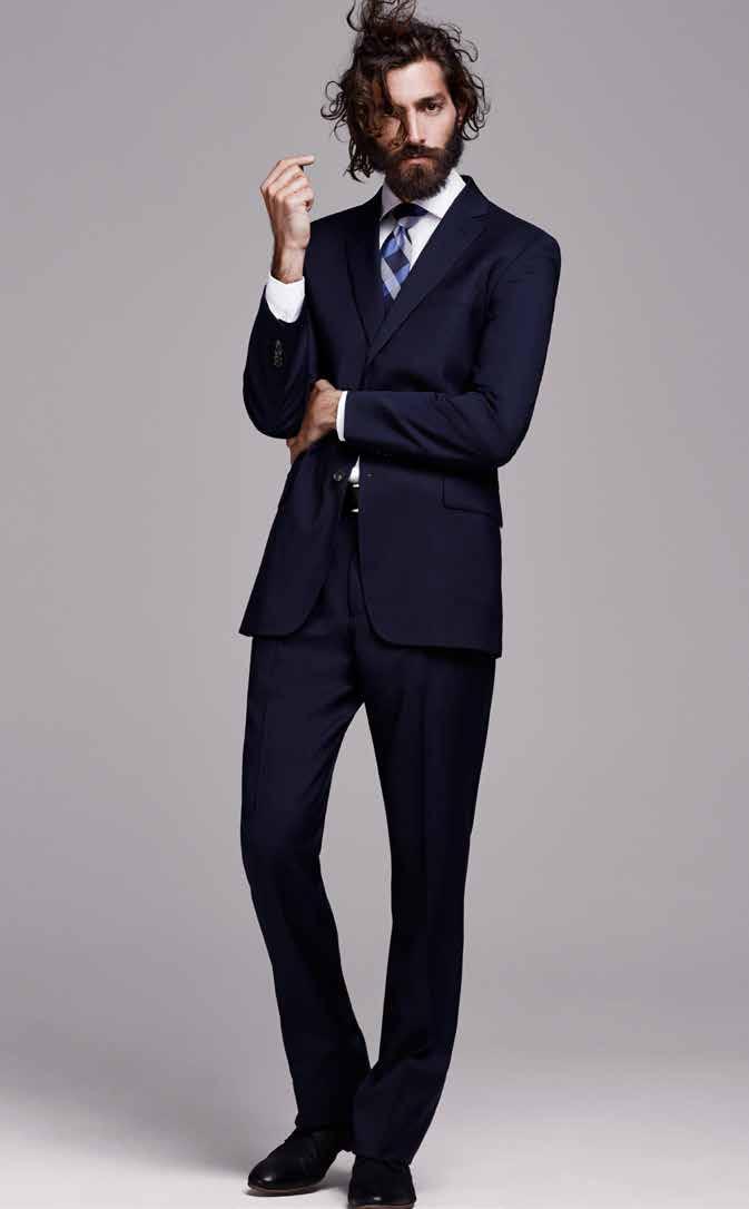 Maximiliano Patane Models Sharp Designer Suits For El