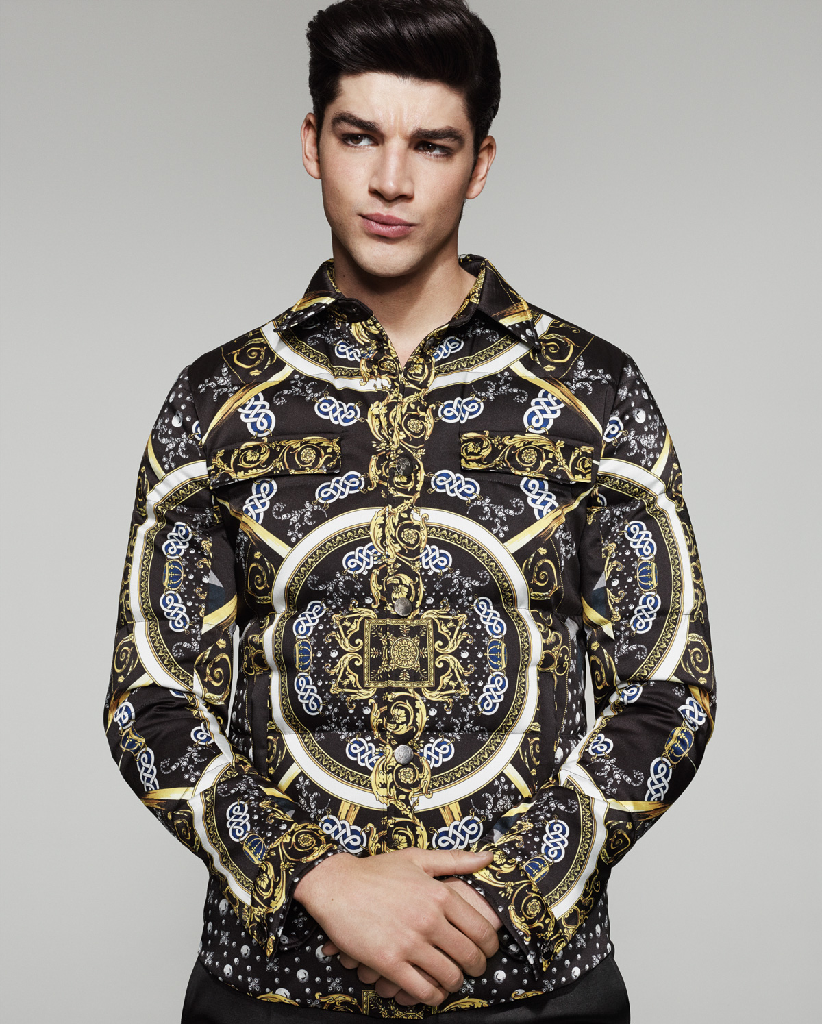 Tarik Lakehal for Versace Collection Fall/Winter 2014