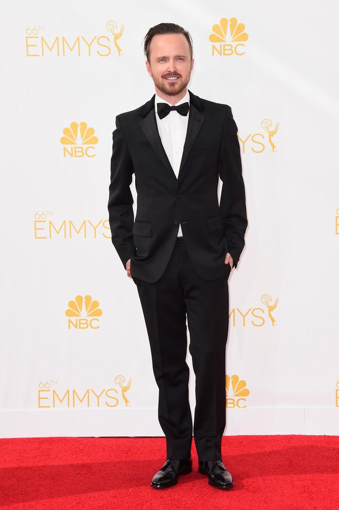'Breaking Bad' actor Aaron Paul wears Prada