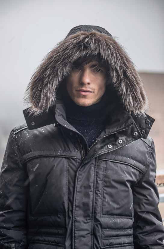 Andrew Marc Unveils Modern Fall 2014 Outerwear for the Urban Survivalist