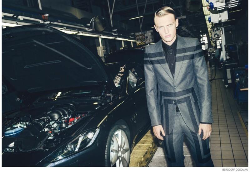 Victor wears Alexander McQueen