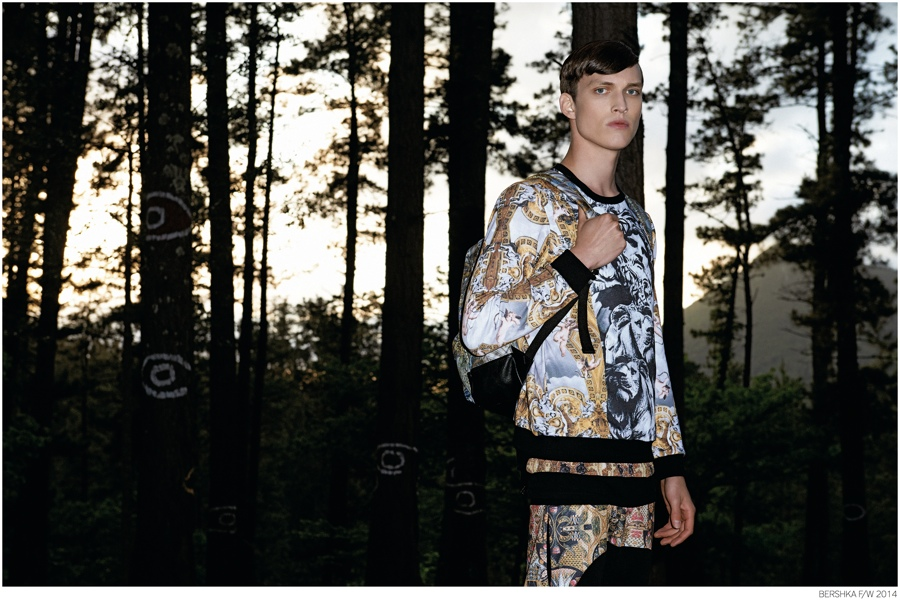 Bershka Gets Sporty for Fall/Winter 2014 Ad Campaign
