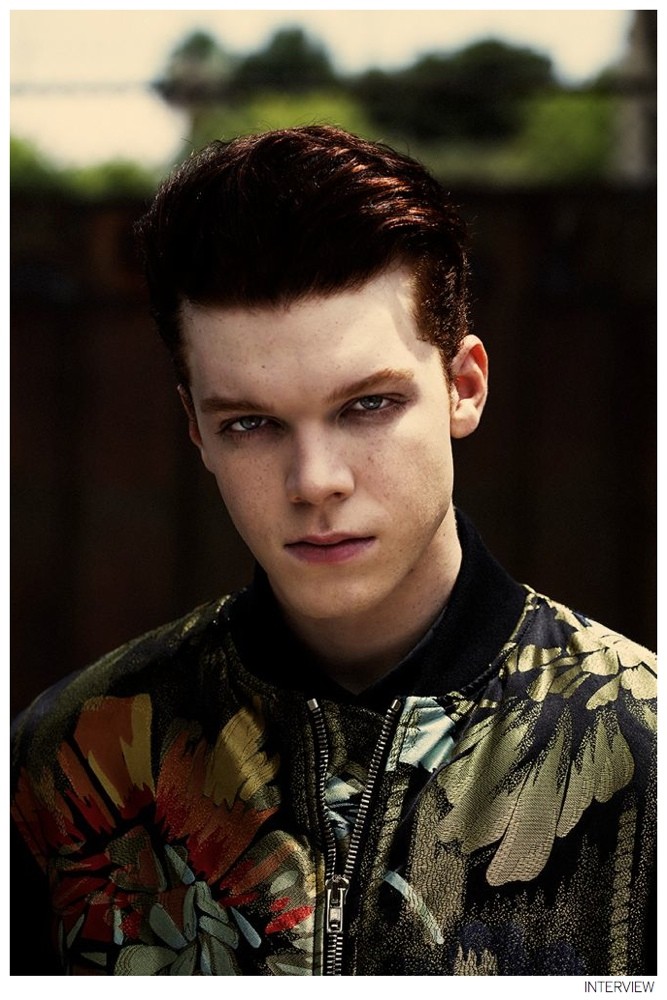 cameron monaghan poses for interview photos talks �the