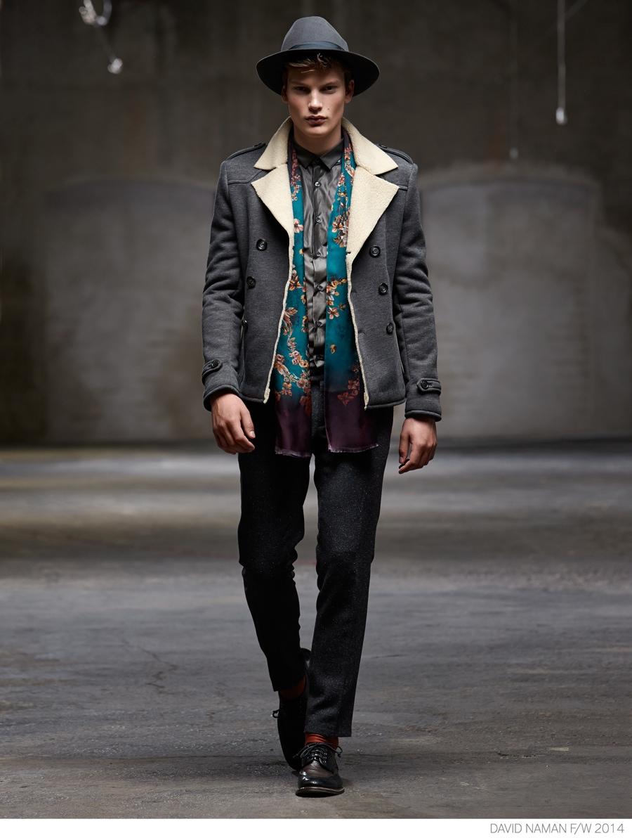 David Naman Embraces Modern Grunge Styles for Fall/Winter 2014 Collection