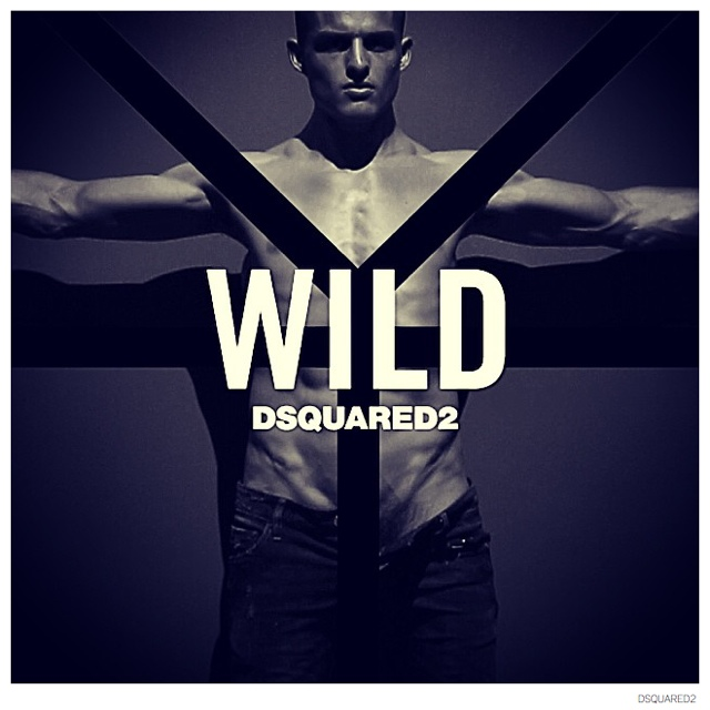 Dsquared2 Promotes Its Wild Fragrance with Racy Images