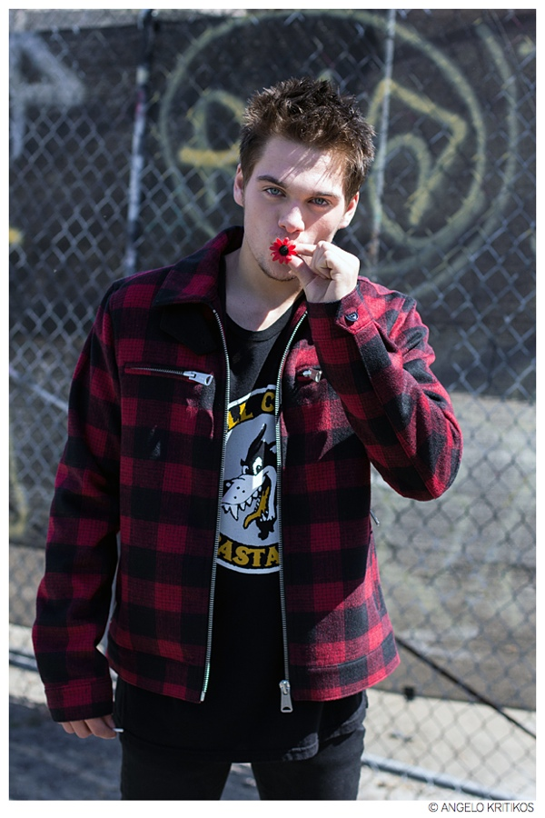 Dylan wears all clothes Kill City.