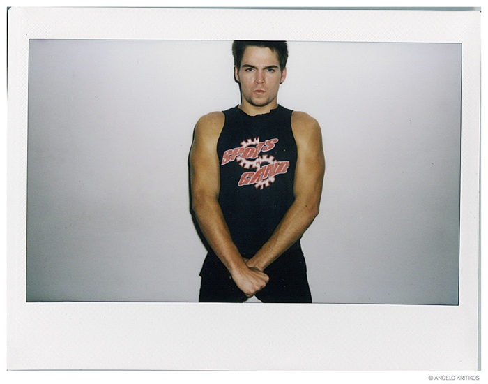 Dylan wears vintage t-shirt.