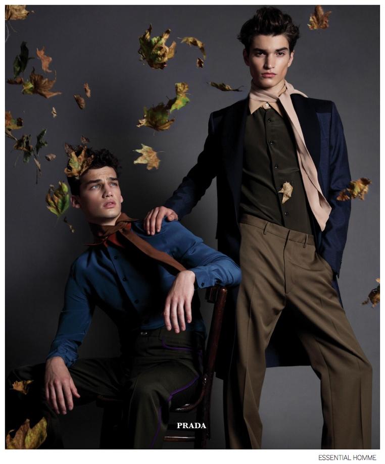 Misa Patinszki + Alexander Ferrario Embrace Fall's Innovative Aesthetics for Essential Homme