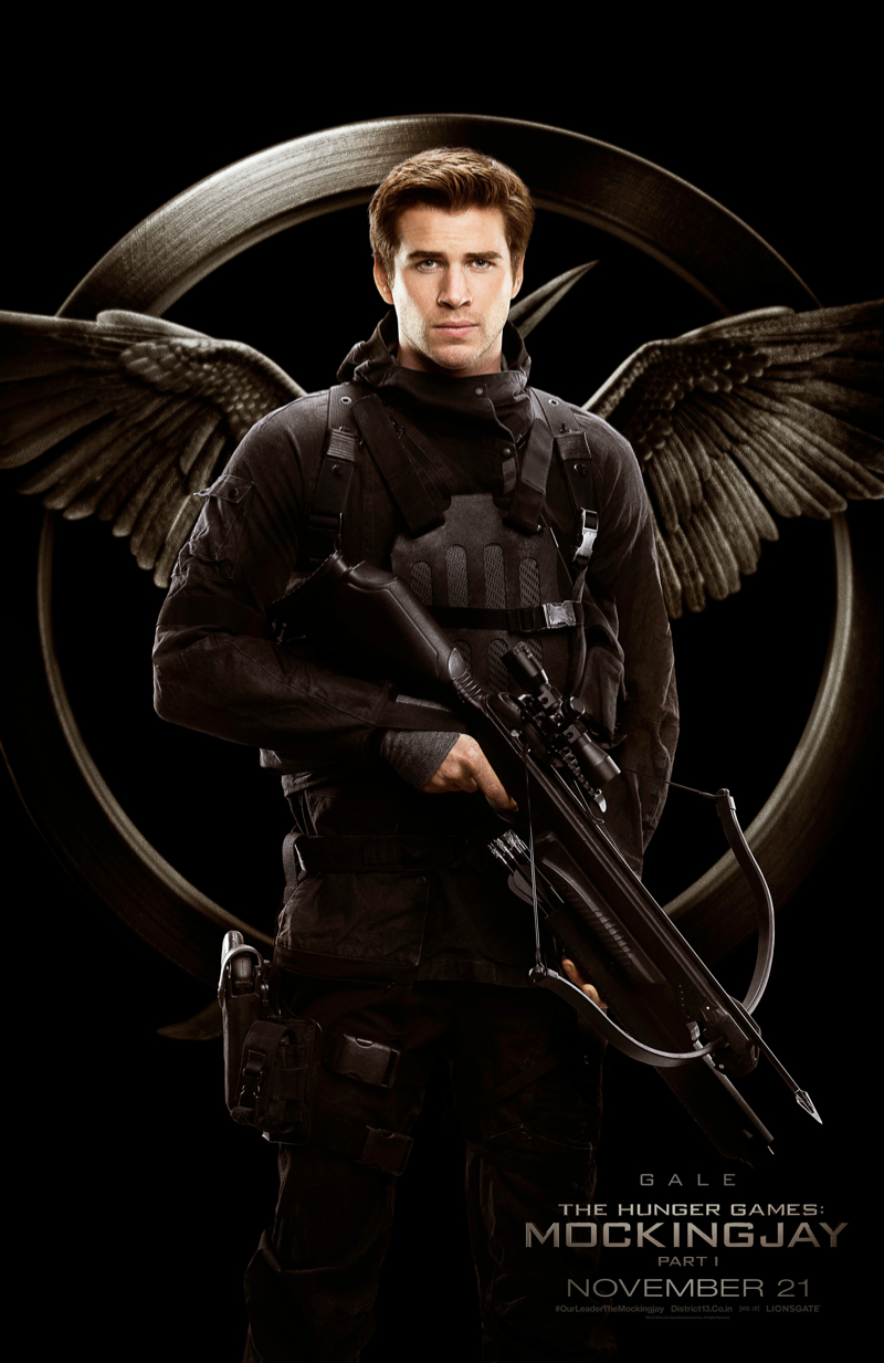 See The Hunger Games: Mockingjay Part 1 Rebel Warrior Posters
