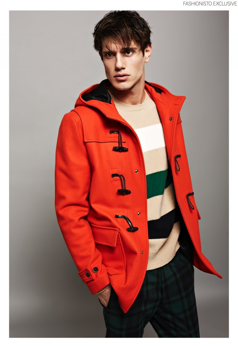 Marco wears all clothes MSGM.