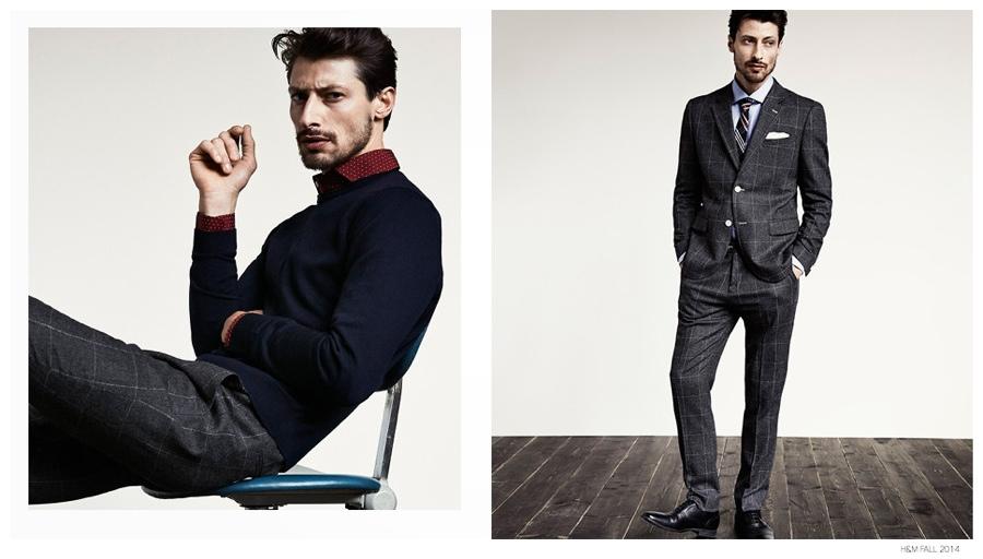 Jonas Mason Dons Preppy Fashion Styles for H&M