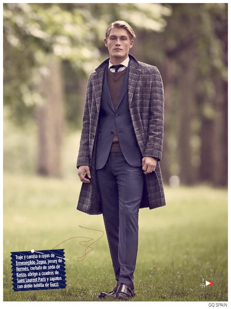 Harry Goodwins Wears Brit Inspired Sartorial Fashions for GQ España