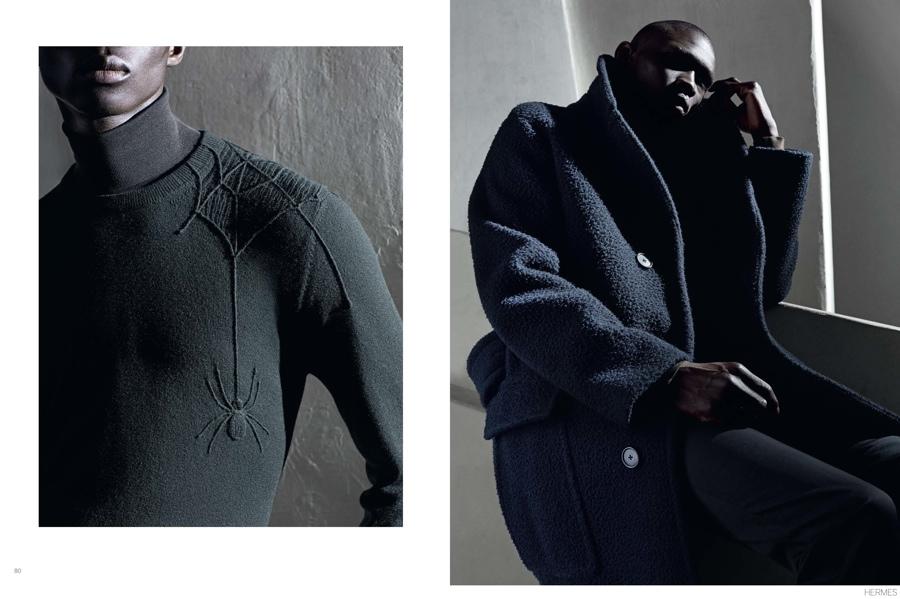 Le Monde D'Hermès Celebrates Fall 2014 Tailoring + Luxe Details