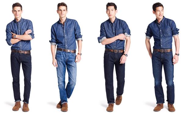 Style 101: J.Crew Men's Denim Jeans