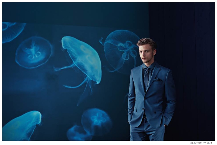 Benjamin Eidem Stars in J.Lindeberg Fall/Winter 2014 Ad Campaign