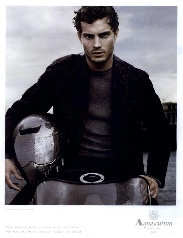 Jamie Dornan for Aquascutum Fall 2008 Campaign