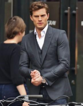 Jamie Dornan as Christian Grey in 'Fifty Shades of Grey'