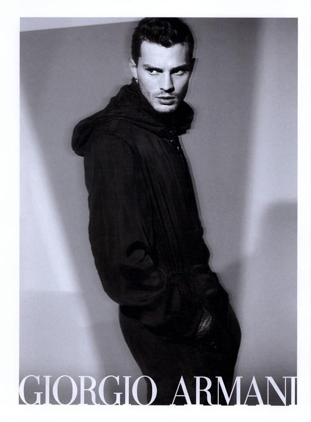 Jamie Dornan for Giorgio Armani Spring/Summer 2009 Ad Campaign