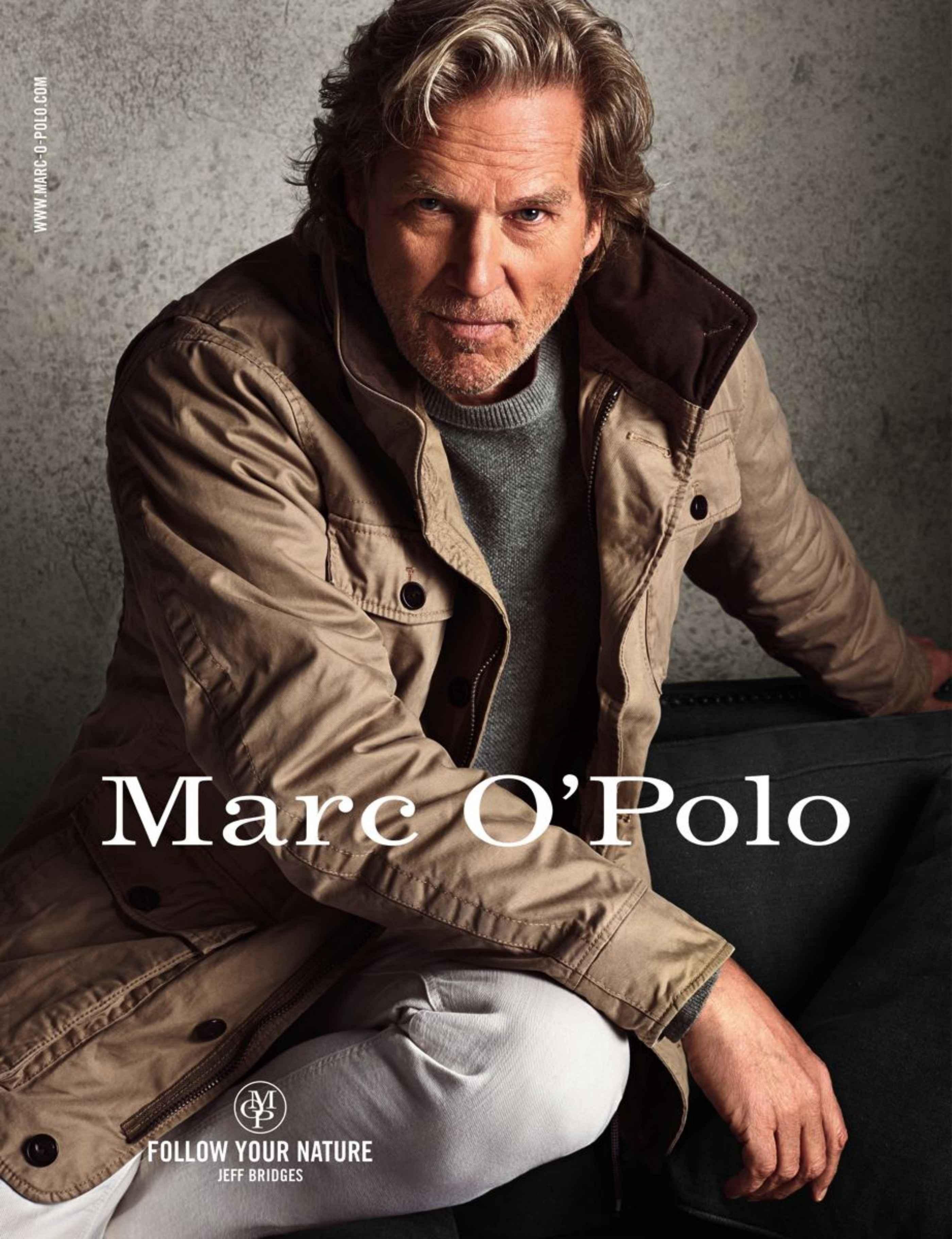 Jeff Bridges for Marc O'Polo Fall/Winter 2014 Ad Campaign