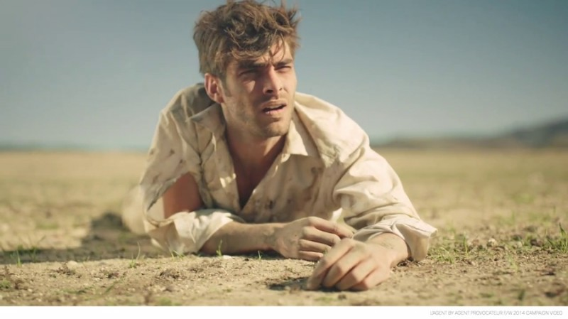 Jon Kortajarena is Thirsty in L'Agent by Agent Provocateur ...