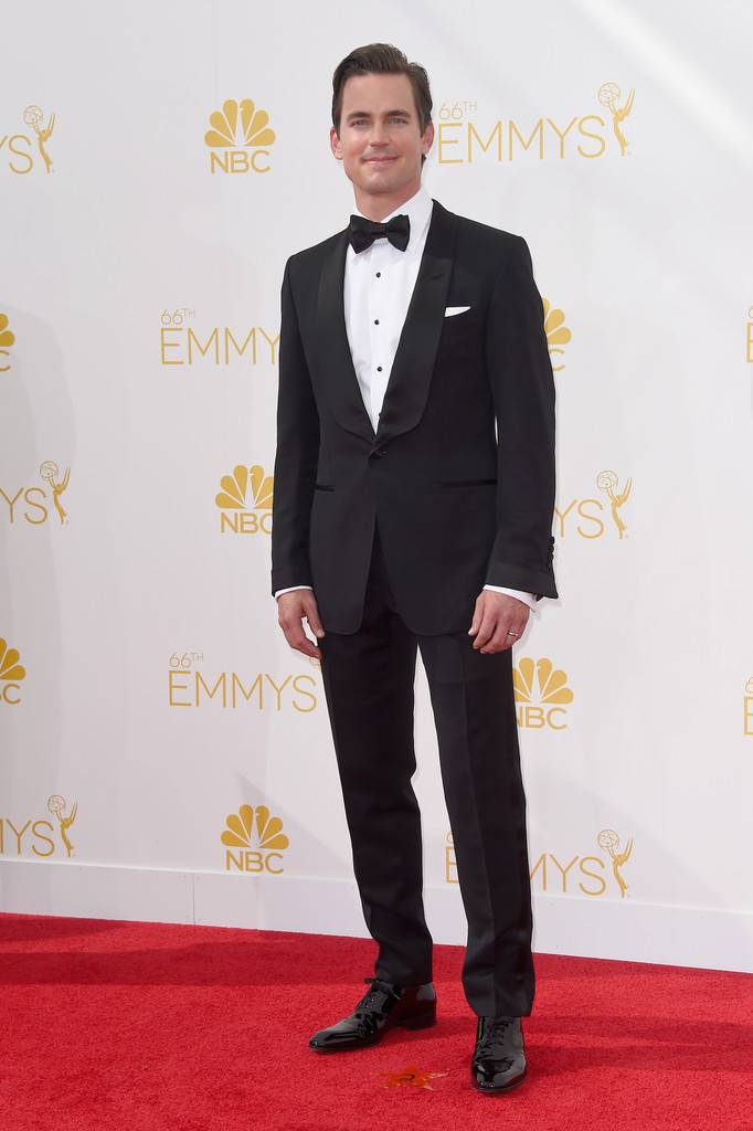 The Classic Tuxedo Wins Out at 2014 Emmy Awards: Men's Style Edition