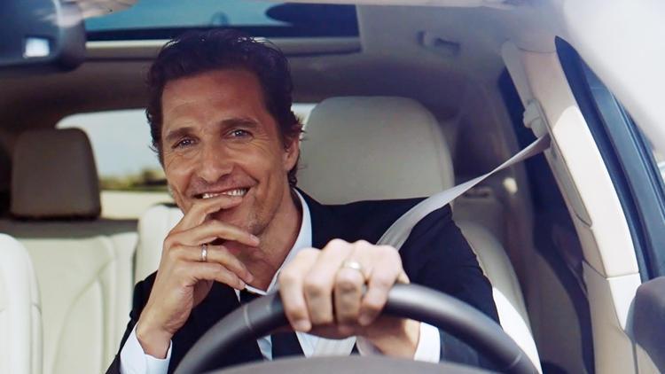 Matthew McConaughey Tapped as Lincoln's Spokesman