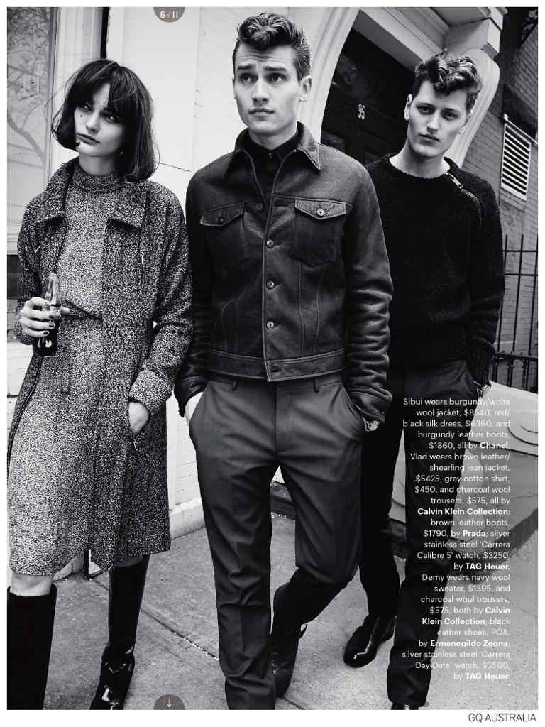 Vladimir Ivanov + Demy Matzen Model 60s Inspired Fashions